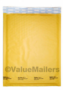 2 Kraft 8 5 X 12 Bubble Lite Mailers Dvd Padded Envelopes Bags 25 100 To 2000