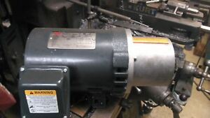 Dayton 3 4 Hp Electric Motor 1135 Rpm 3 Phase 11w353 Hydraulic Pump Motor
