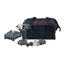 Ingersoll Rand Iqv12 202 2 Piece Impact And Ratchet Iqv12 Cordless Kit