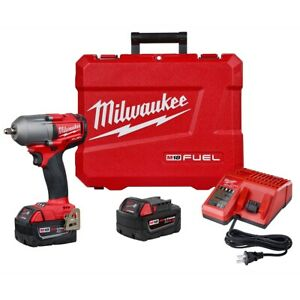 Milwaukee Electric Tools 2852 22 M18 Fuel 3 8in Mid Torque Impact Wrench 5 0 Kit