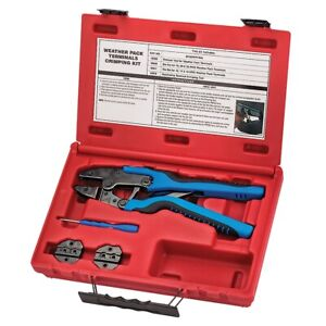 Sg Tool Aid 18850 Weather Pack Terminal Crimper