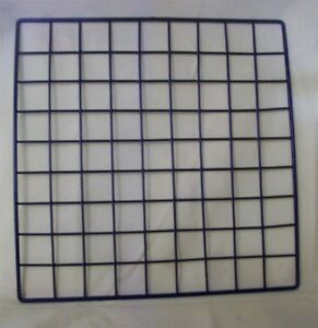 Store Display Fixtures 24 New Grid Cube Panels 14 X 14 Black