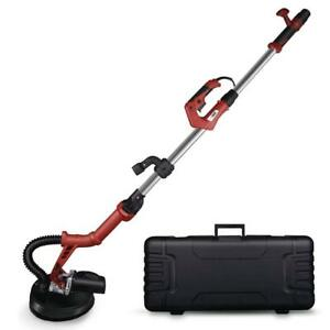 Electric Drywall Sander Variable Speed With Led Light Folding Extendable Hose