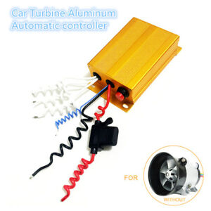 Car Turbine Automatic Controller Aluminum Box For 35000rpm Electric Turbocharger