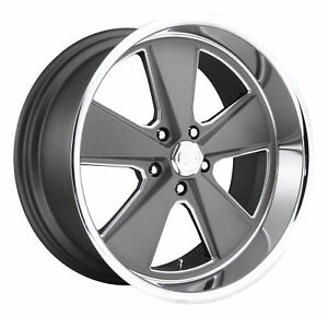 Cpp Us Mags U120 Roadster Wheels 17x7 17x8 Fits Ford Mustang Falcon Galaxie