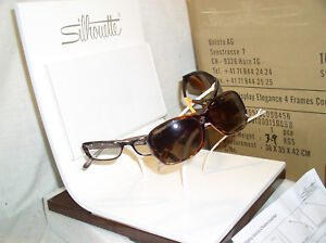 New Silhouette Eyewear Eyeglass Retail Store Advertising Display Stand Shelf