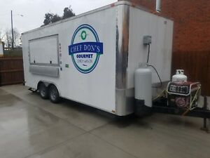 2013 20 x8 5 Food concession Trailer