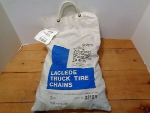 Laclede Light Truck Tire Snow Chains Stock No 3210r New In Sealed Bag