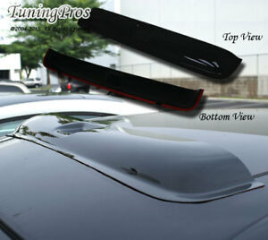 Hond Crx Coupe 2drs 1988 1991 3pc Wind Deflector Out Channel Visors