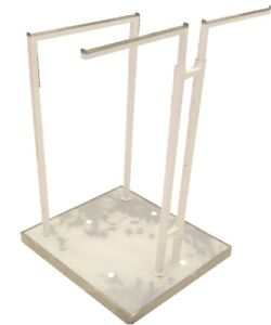 Used Clothing Rack 3 Way Straight 3 Arms Clothes
