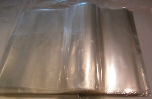 Clear Poly Plastic 1000 Bags 17x13 Flat Open Packing T shirt Apparel Pants