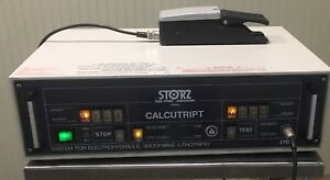 Storz Calcutript With Footpedal