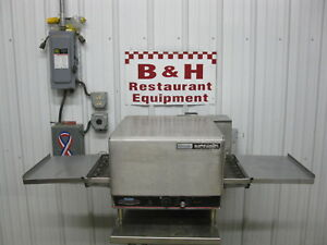 Lincoln Impinger Pizza Sub Oven W 16 Conveyor Belt Extension Trays 1301 17