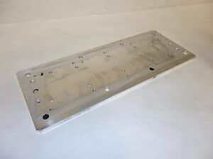 Linear Motor Magnetic Plate 130 Mm X 333 Mm X 5 Mm Used B7