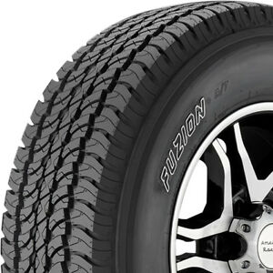 4 New 255 70 16 Fuzion A t All Terrain Tires 255 70 16