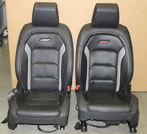 2016 2017 2018 Chevrolet Camaro Ss Leather Seats Oem Coupe Front Only Hot Rod