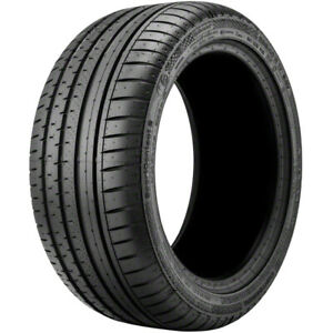 1 New Continental Contisportcontact 2 P255 45r18 Tires 2554518 255 45 18