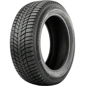 1 New Continental Wintercontact Si 215 45r17 Tires 45r 17 215 45 17