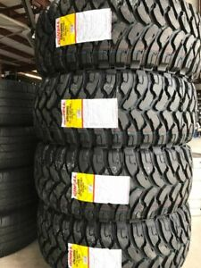 4 New Ginell Gn3000 Lt35x12 5r20 Tires 12 5r 20 35 12 5 20