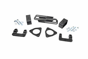 Rough Country 2 5 Leveling Lift Kit fits 2007 2018 Silverado Sierra 1500