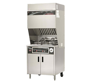 Wells Wvf 886 Electric Ventless Deep Fryer W auto lifts