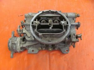 1963 63 1964 64 Lincoln 430 Carter Afb Carb 3929s Dated K4
