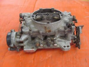 1966 66 Cadillac 429 Carter Afb Carb 4169s Dated A6 Core