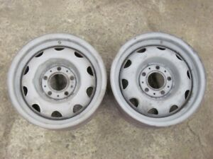 Pair 1971 71 Dodge Mopar 14x5 5 Rally Wheels Sept 70 Date M 1 0 10 6 Rims Pair