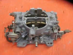 Plymouth Barracuda Forumla S 383 Carter Afb Carb 4299s Dated C8