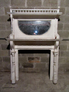 Tall 2 Piece Carved Walnut Fireplace Mantel 54 X 78 Architectural Salvage