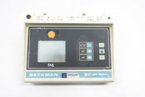 Beckman Phi 31 123115 Battery Powered Portable Ph Meter 9v dc