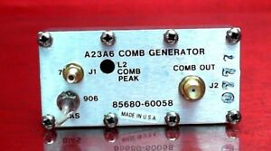 Hp Agilent Keysight 85680 60058 A23a6 Comb Generator For 8568 Spectrum Analy