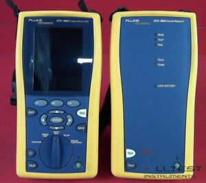Fluke Dtx 1800 Cable Analyzer And Smartremote
