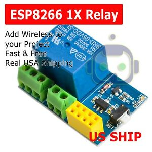 Esp8266 Relay Module Smart Home Phone Remote Control Switch App Esp 01s 5v Wifi