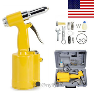 Air Riveter Hydraulic Pop Rivet Pneumatic Riveting Gun3 16 5 32 1 8 3 32 us