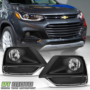 2017 2019 Chevy Trax Bumper Fog Lights Driving Lamps W wiring Switch Left right