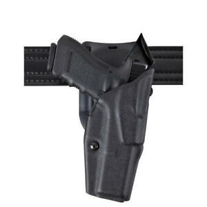 Safariland 6390 83 481 Black Stx Basketweave Rh Duty Holster For Glock 26 27