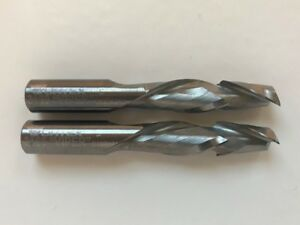 Vortex Viper 3160 Solid Carbide Cnc Router Bit 1 2 2 Flute Compression 2 Pieces