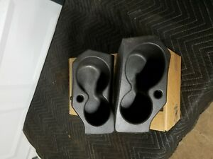 2009 2017 Dodge Ram 1500 3500 Door Panel Foam Cup Holder Insert Set Oem Mopar