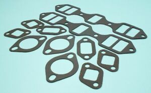 New 1951 1952 1953 1954 Studebaker V8 232 Intake Exhaust Manifold Gaskets Set