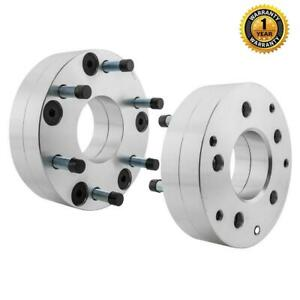 2pc 2 5x4 75 To 6x5 5 74mm Wheel Spacers Adapters For Chevrolet Silverado