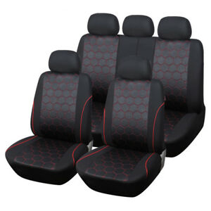 Car Seat Cover Universal Fit Front Back Seat Protector Auto Interior Accessories