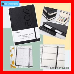 Planner 2019 Academic Weekly Monthly And Year Planner With Pen Loop