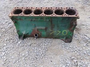 Oliver 770 Gas Tractor Engine Block