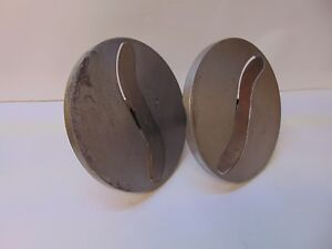 Lot Of 2 Slicer Knife S blade For Pelican Head With 1 2 Shaft S3754
