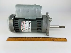 Franklin Electric Motor 373 Rpm 115 Volt High Torque Slow Speed Geared Reducer