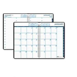 House Of Doolittle 289632 24 7 Daily Appointment Book monthly Planner 7x10 Black