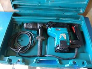 Makita Rotary Hammer Drill Model Hr4040c Works Fine 120volts