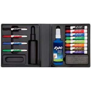 Expo Dry Erase Low Odor Portable Marker Formula Kit 14 Piece Assorted Color