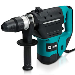 Hiltex 10513 1 1 2 Inch Sds Rotary Hammer Drill Includes Demolition Bits Flat